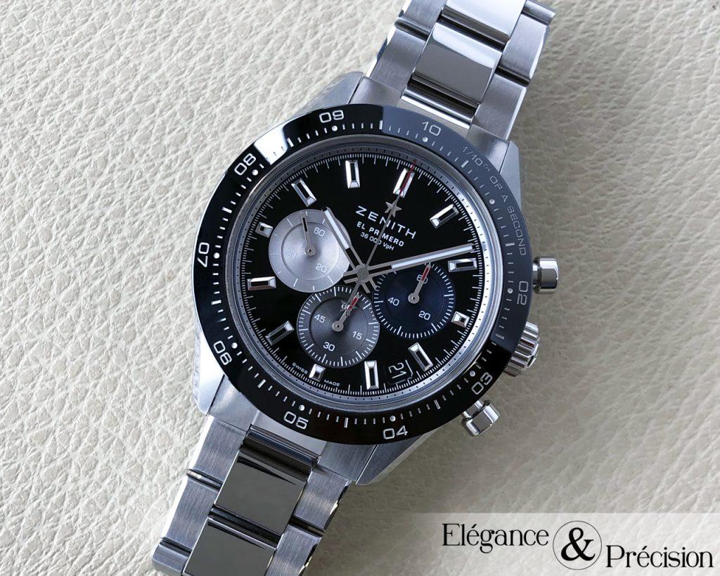 Chronomaster Sport black dial