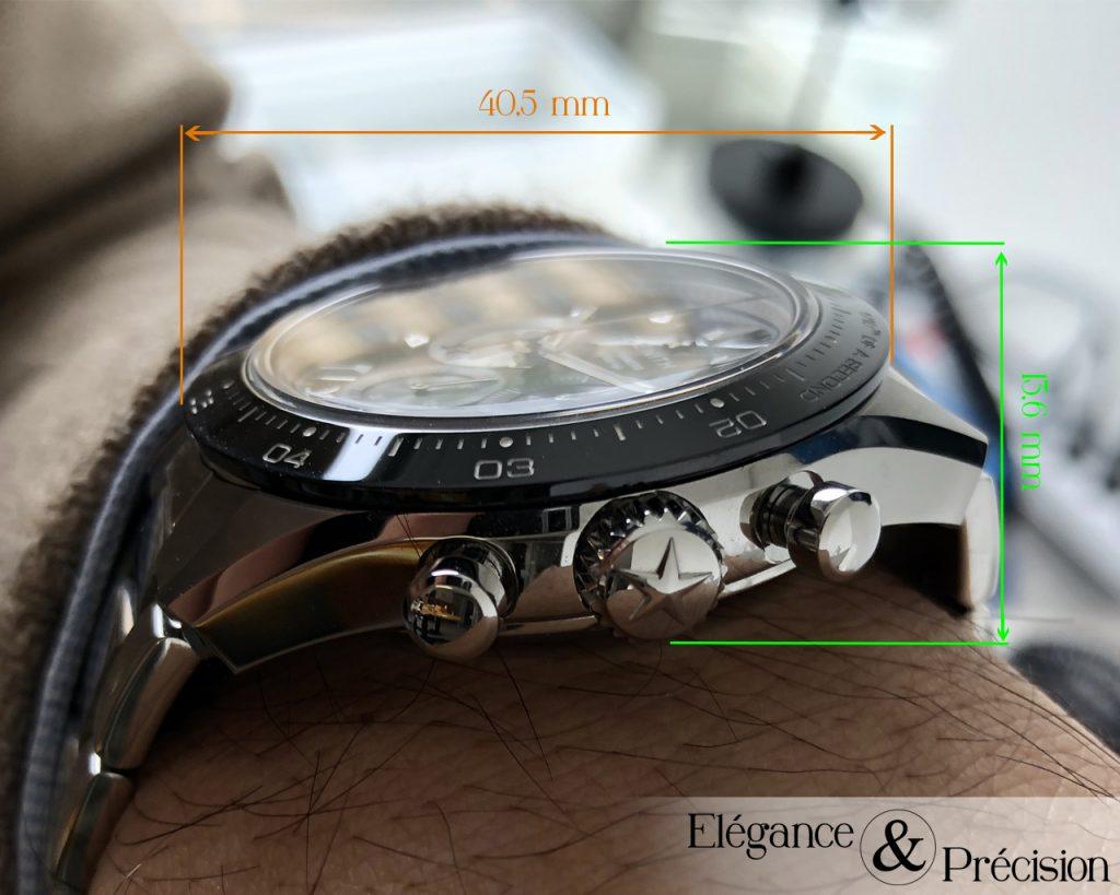 Dimensions Chronomaster Sport