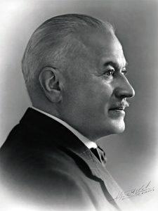 Hans Wilsdorf portrait