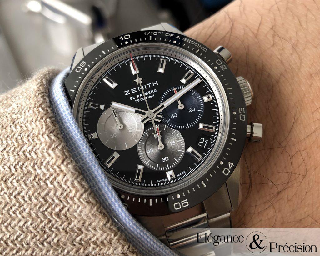 Wrist shot Chronomaster Sport
