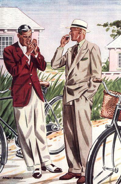 Deux gentlemen Gentleman
