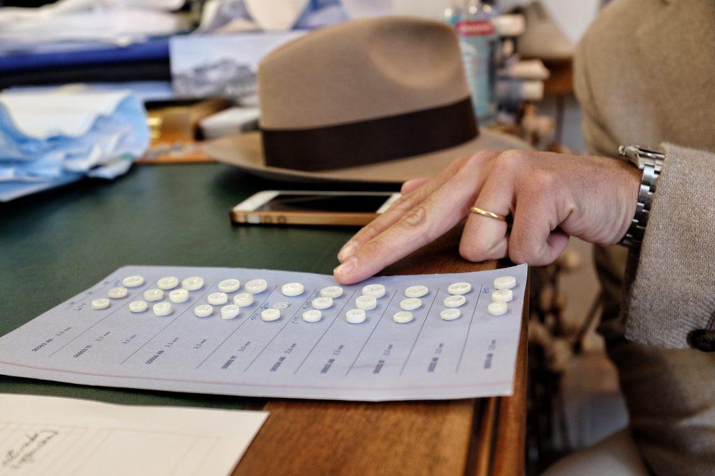 Choix des boutons sur-mesure